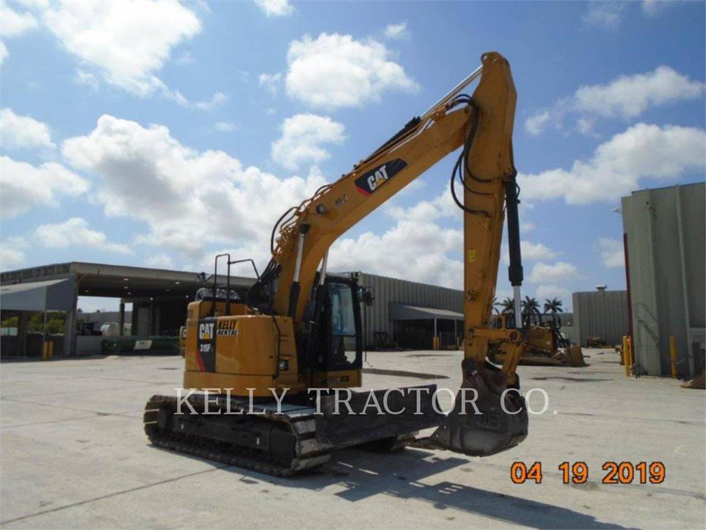 Caterpillar 315FLCR, Crawler Excavators, Construction