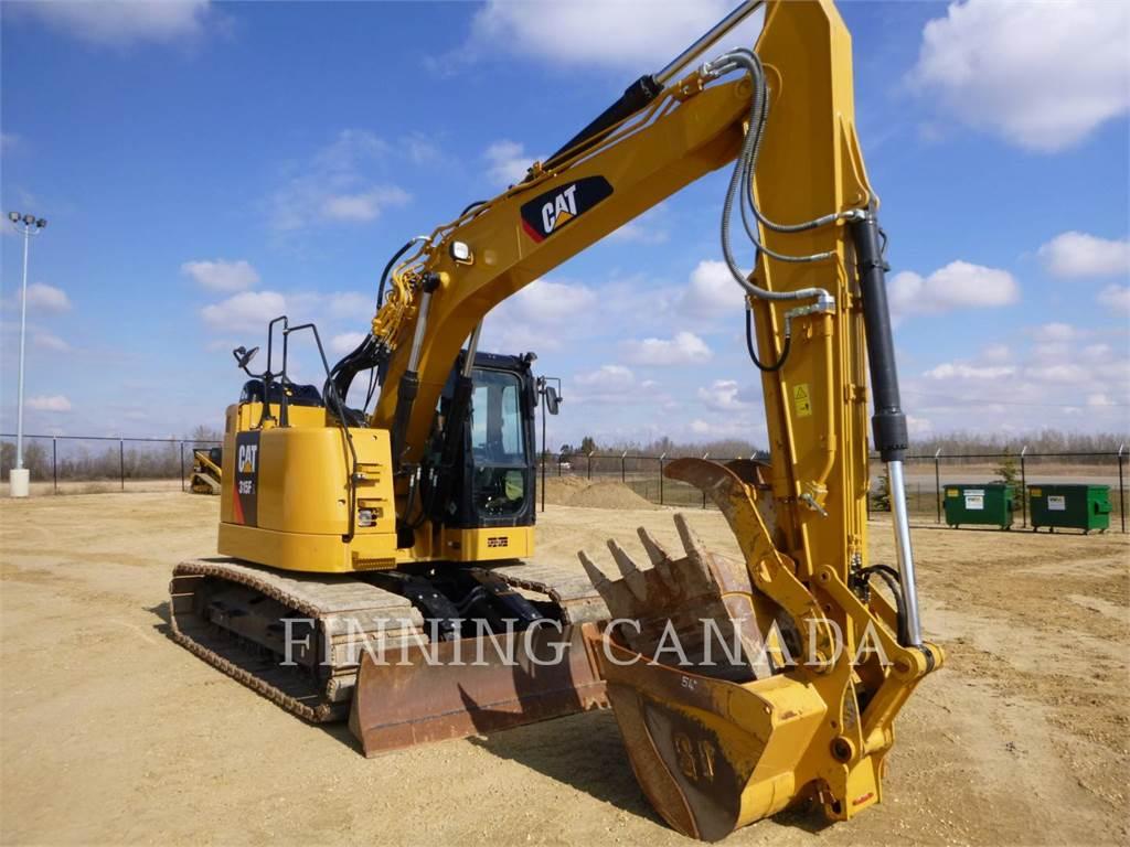 Caterpillar 315FLCR, Escavadoras de rastos, Equipamentos Construção