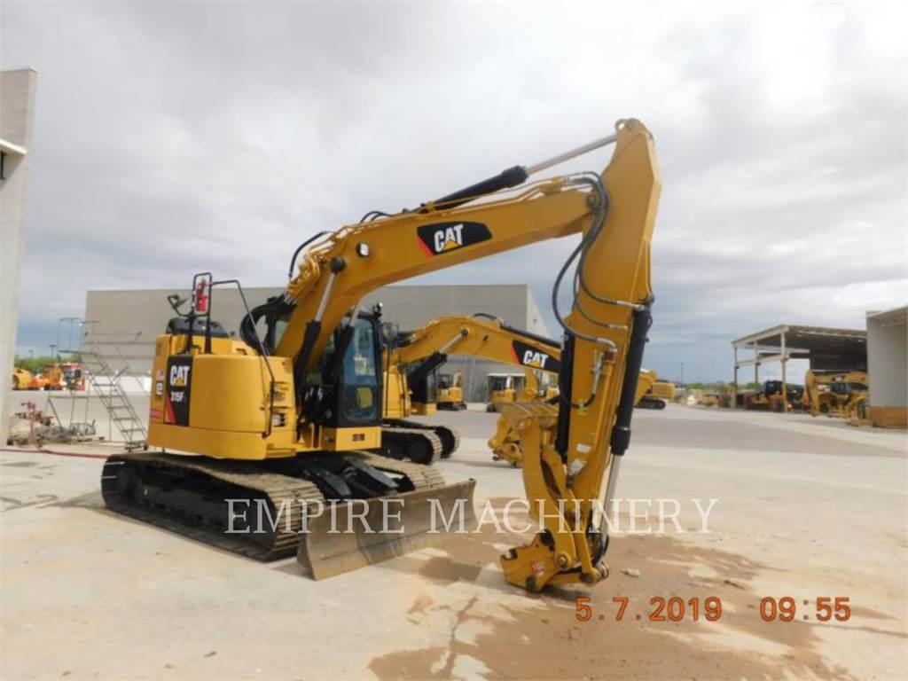 Caterpillar 315FLCR, Pelle sur chenilles, Équipement De Construction