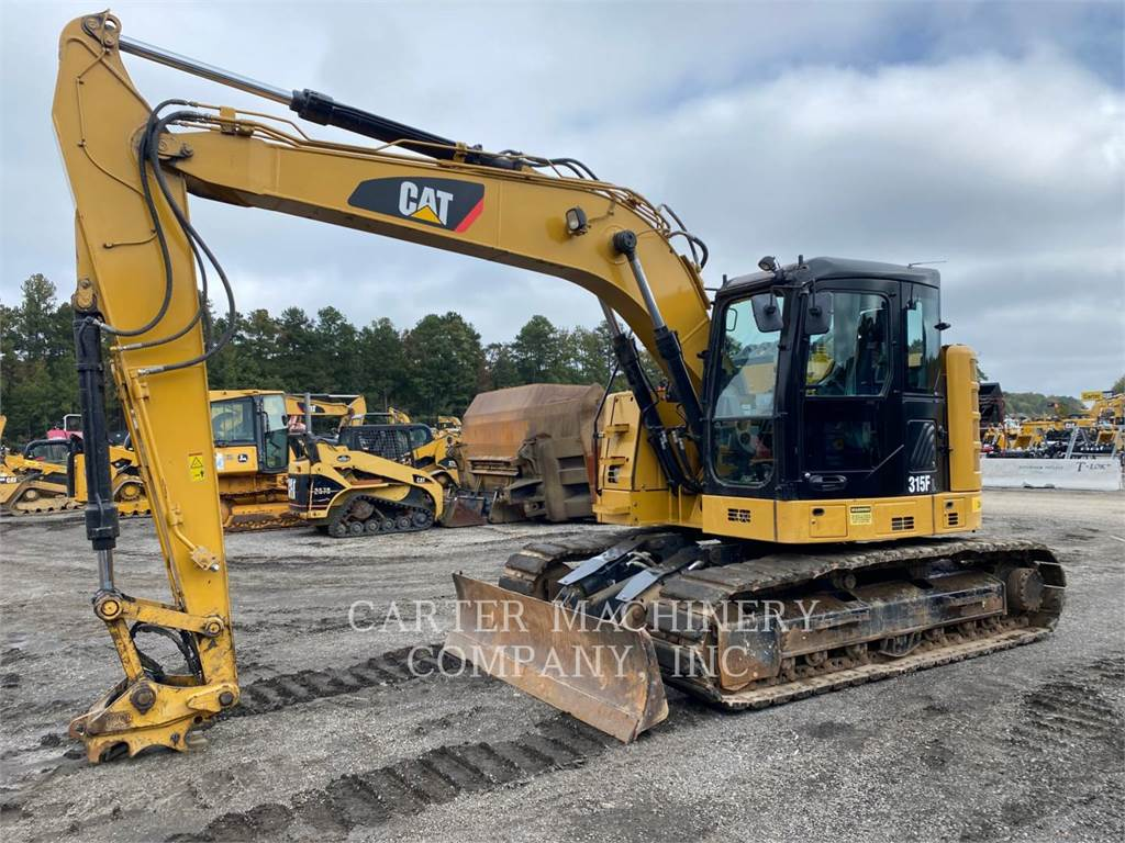 Caterpillar 315FLCR CFBL, Pelle sur chenilles, Équipement De Construction