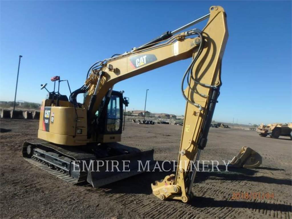 Caterpillar 315FLCR, Excavadoras de cadenas, Construcción