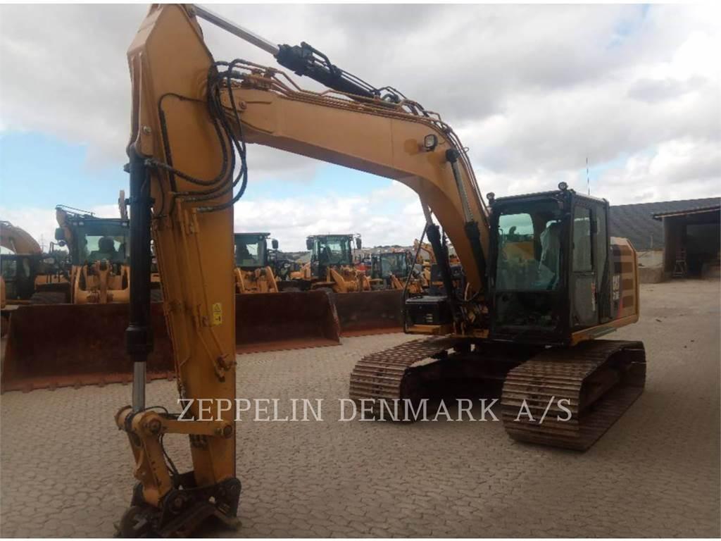 Caterpillar 316 EL, Excavatoare pe senile, Constructii