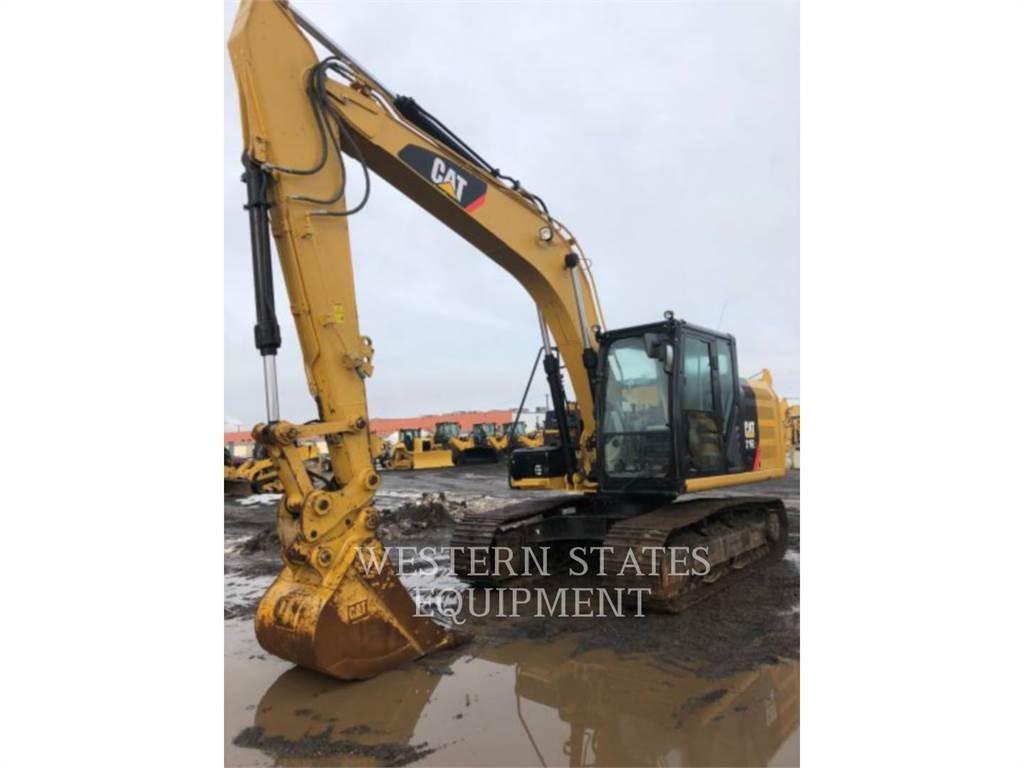 Caterpillar 316E, Pelle sur chenilles, Équipement De Construction