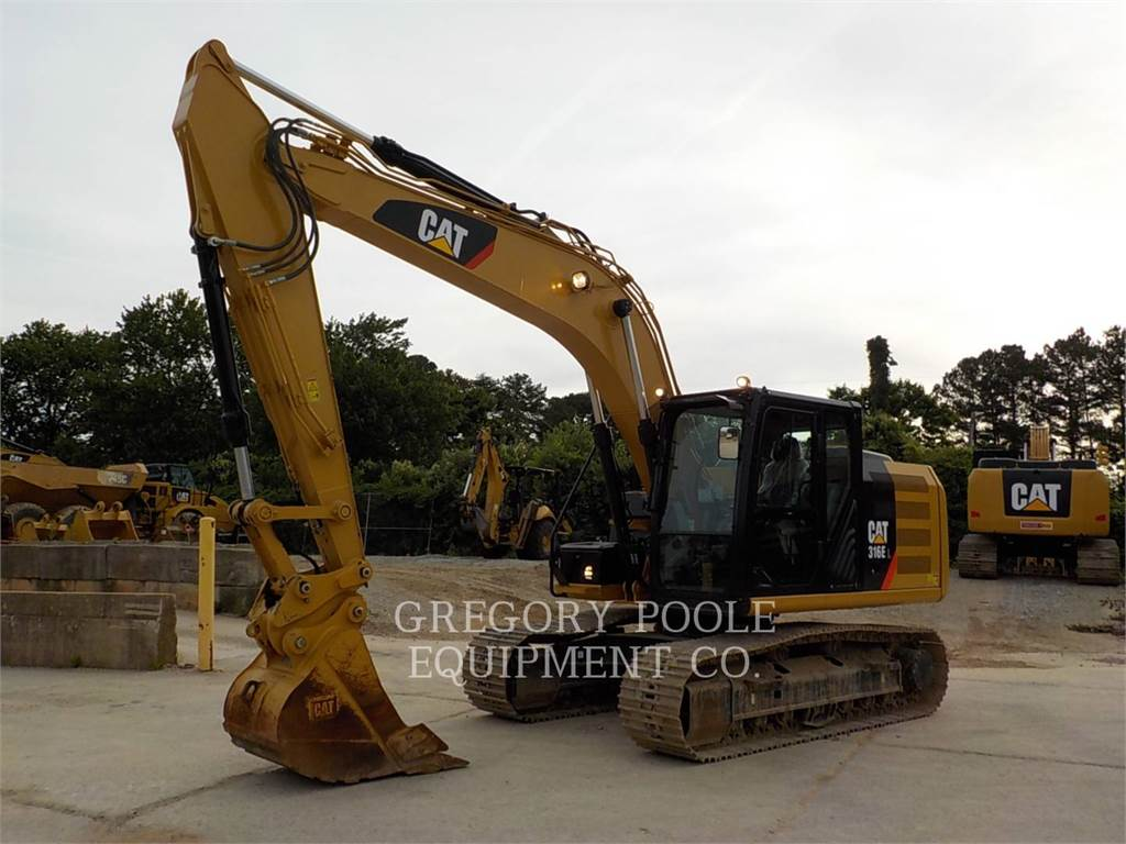 Caterpillar 316E L, Crawler Excavators, Construction