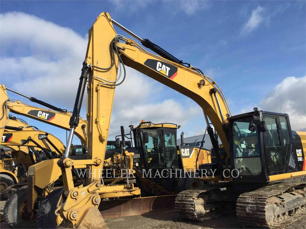 Caterpillar 316E L CF, Crawler Excavators, Construction