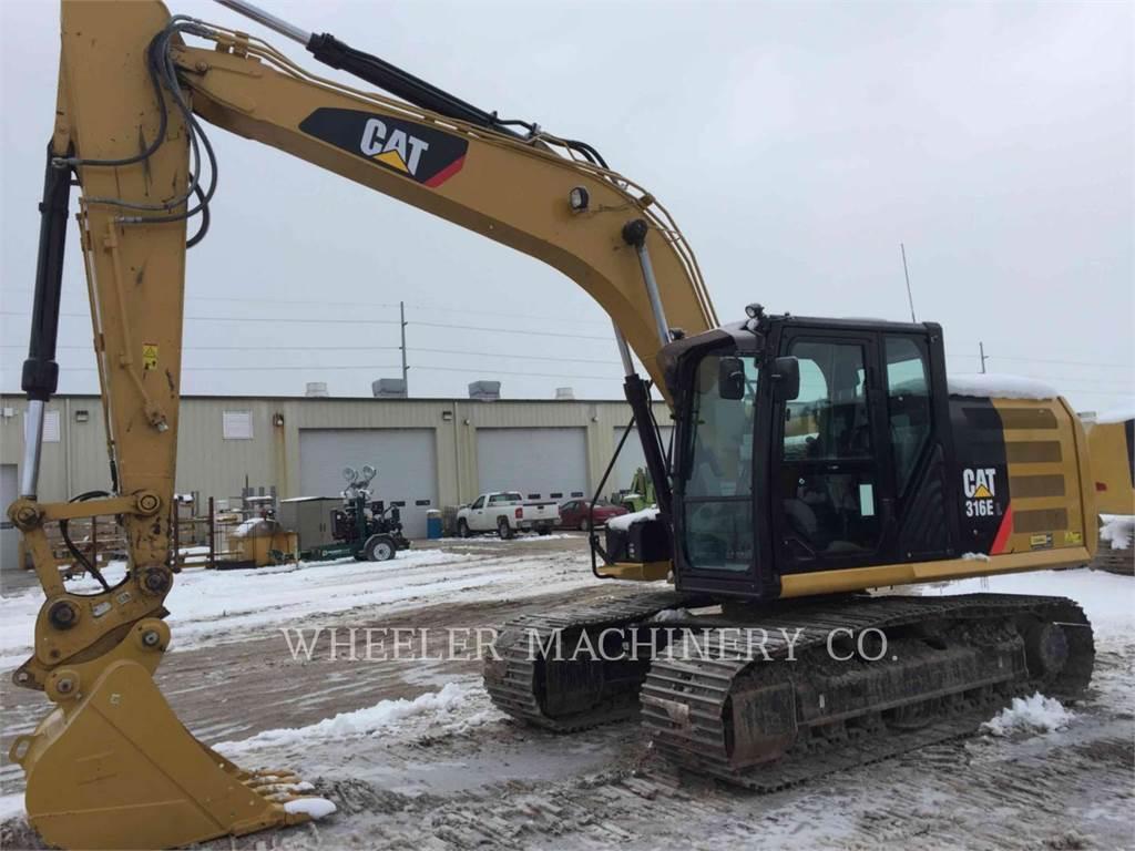 Caterpillar 316E L CF, Raupenbagger, Bau-Und Bergbauausrüstung