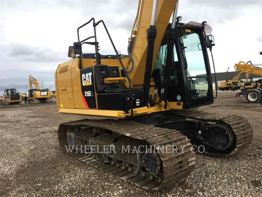 Caterpillar 316E L CF, Crawler Excavators, Construction