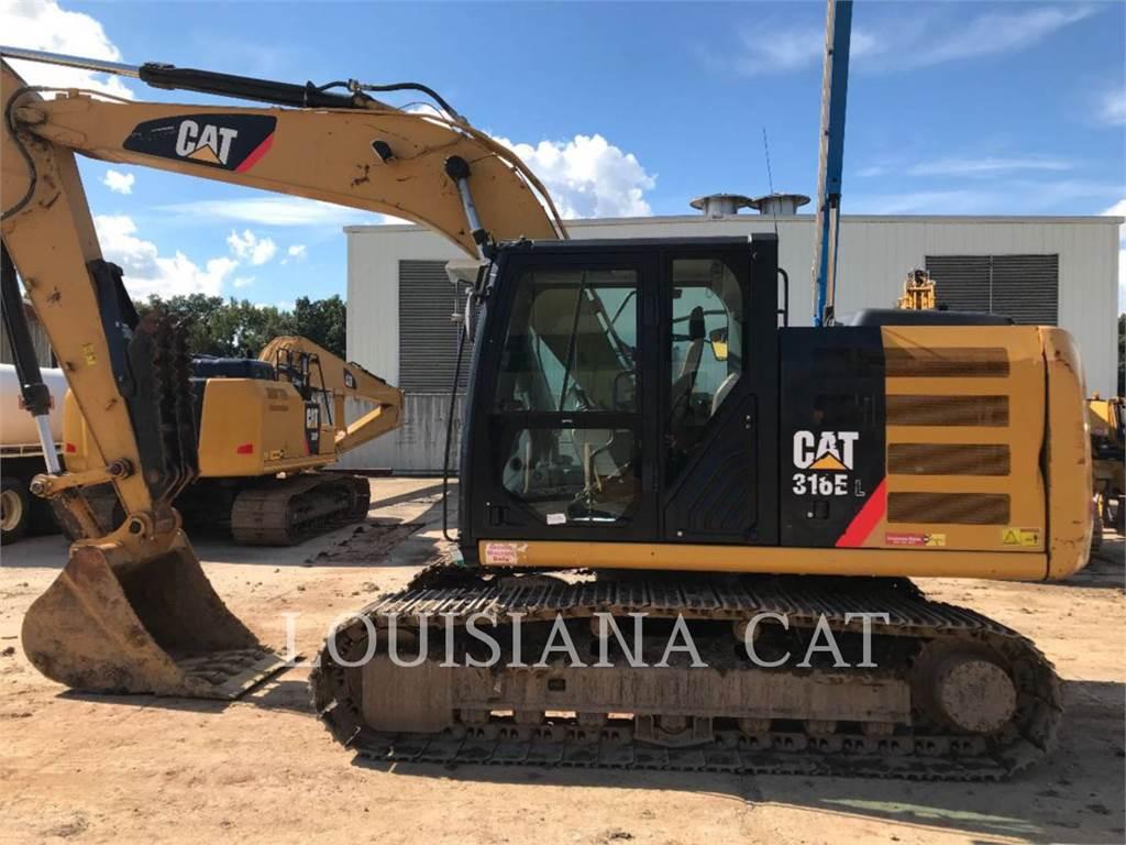 Caterpillar 316EL, Escavadoras de rastos, Equipamentos Construção