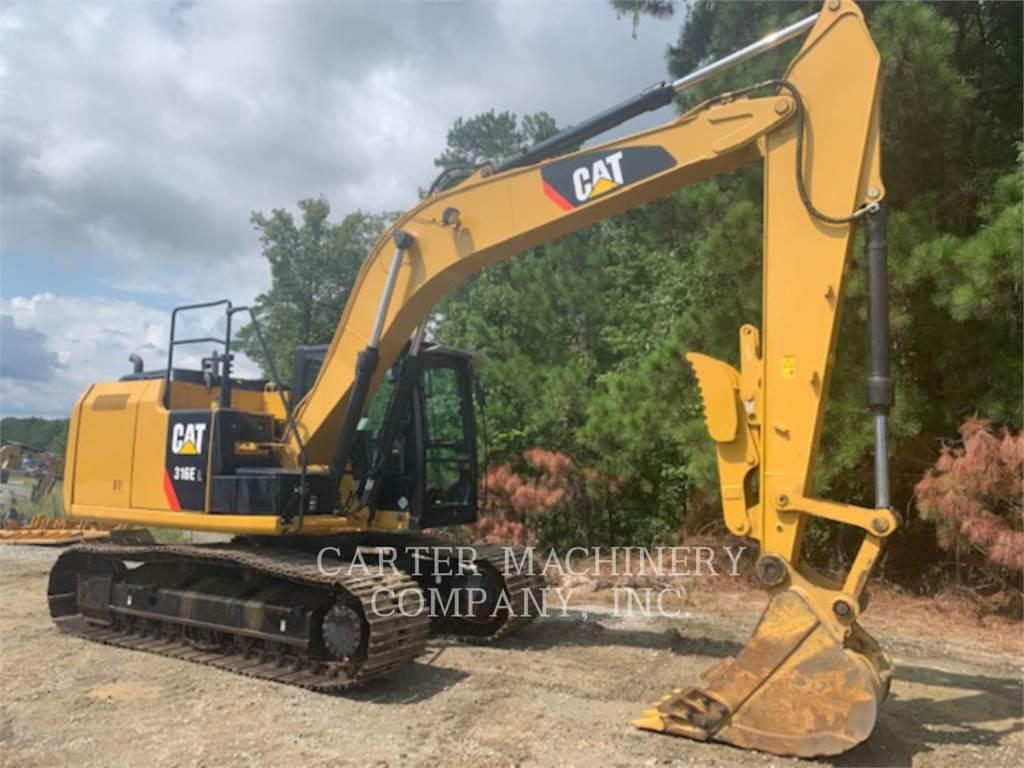 Caterpillar 316EL、大型油圧ショベル12t以上(パワーショベル・ユンボ)、建設