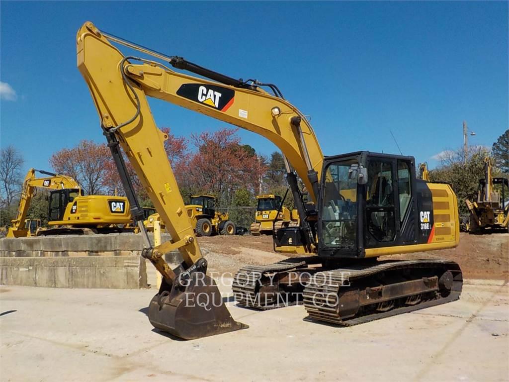 Caterpillar 316EL, Koparki gąsienicowe, Sprzęt budowlany