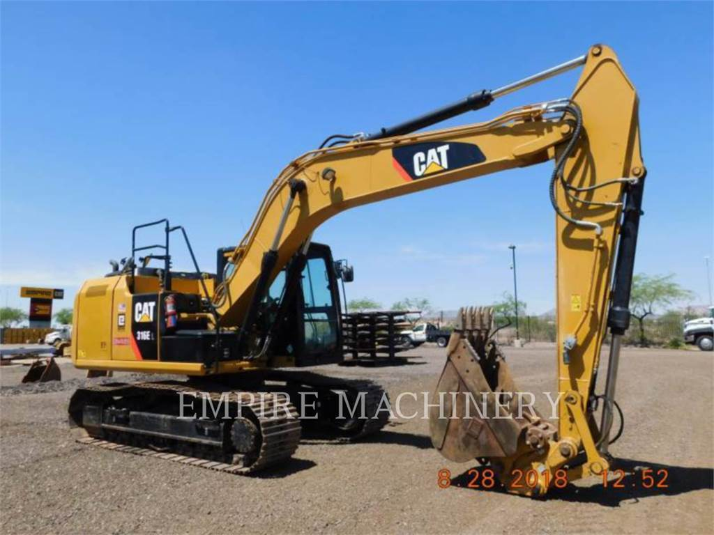 Caterpillar 316EL, Raupenbagger, Bau-Und Bergbauausrüstung