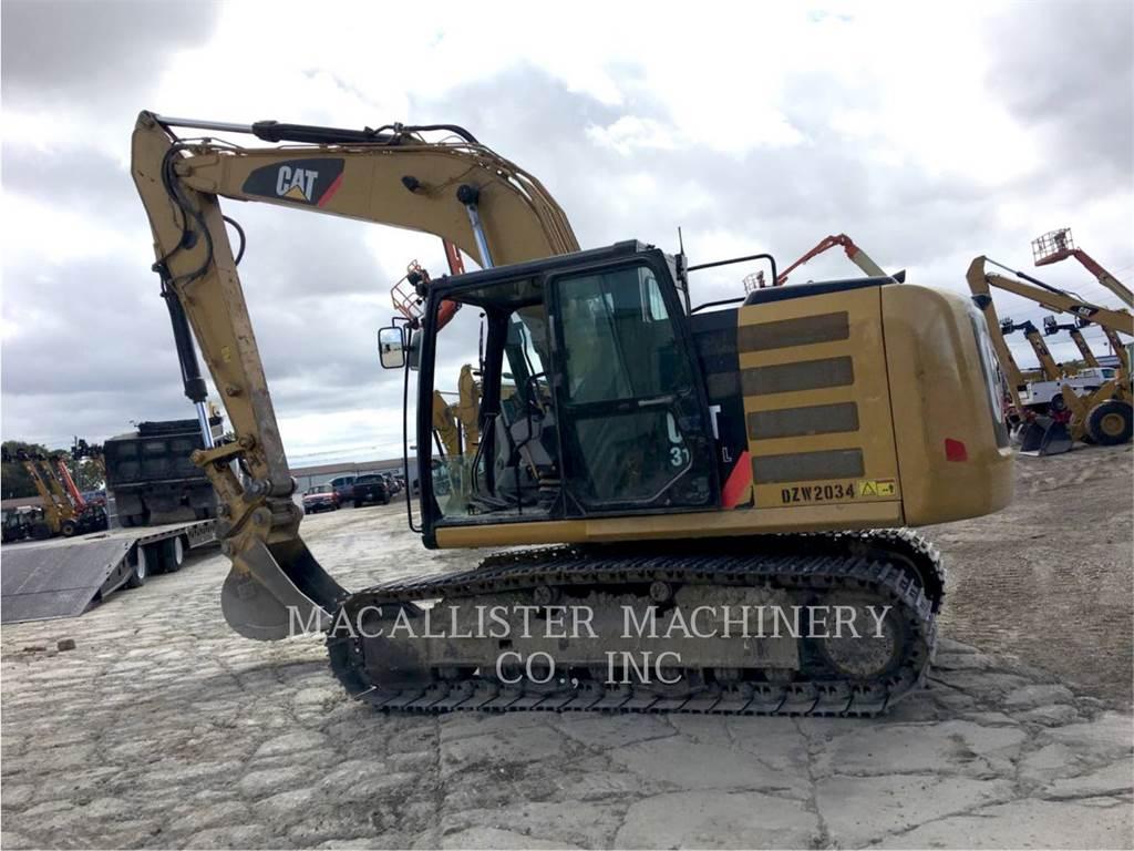 Caterpillar 316EL, Excavadoras de cadenas, Construcción