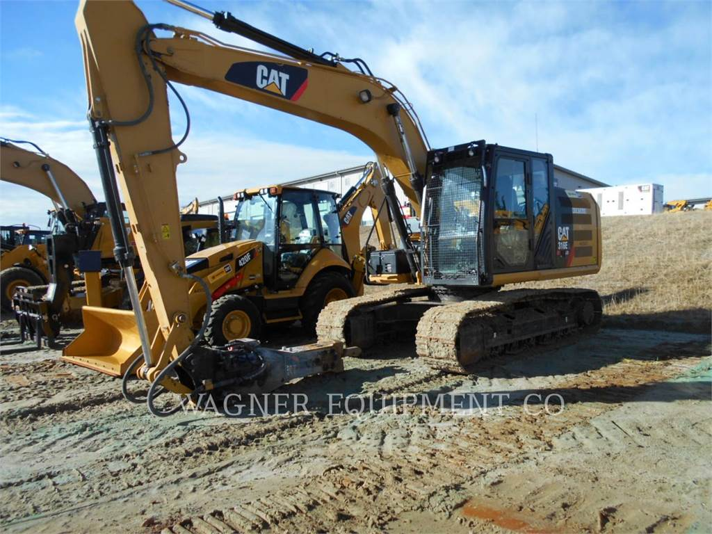 Caterpillar 316EL HMR, Crawler Excavators, Construction