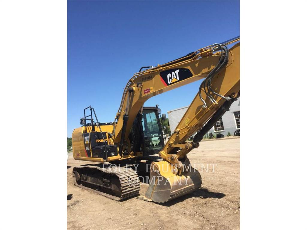 Caterpillar 316EL9, Crawler Excavators, Construction