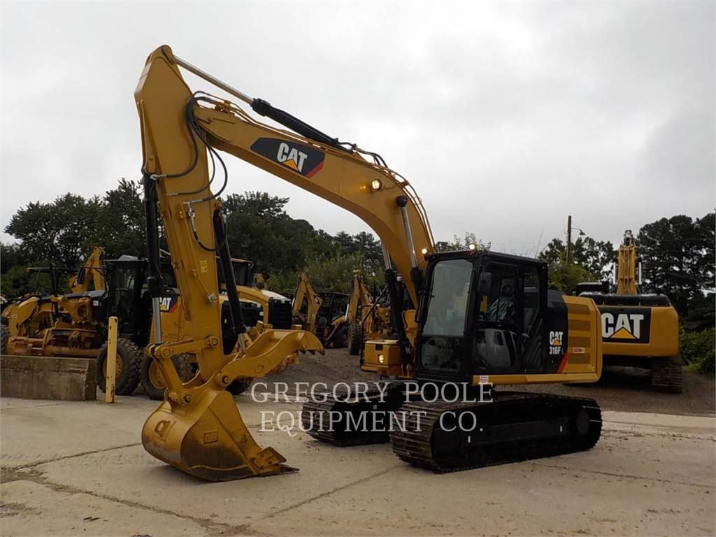 Caterpillar 316F L, Crawler Excavators, Construction