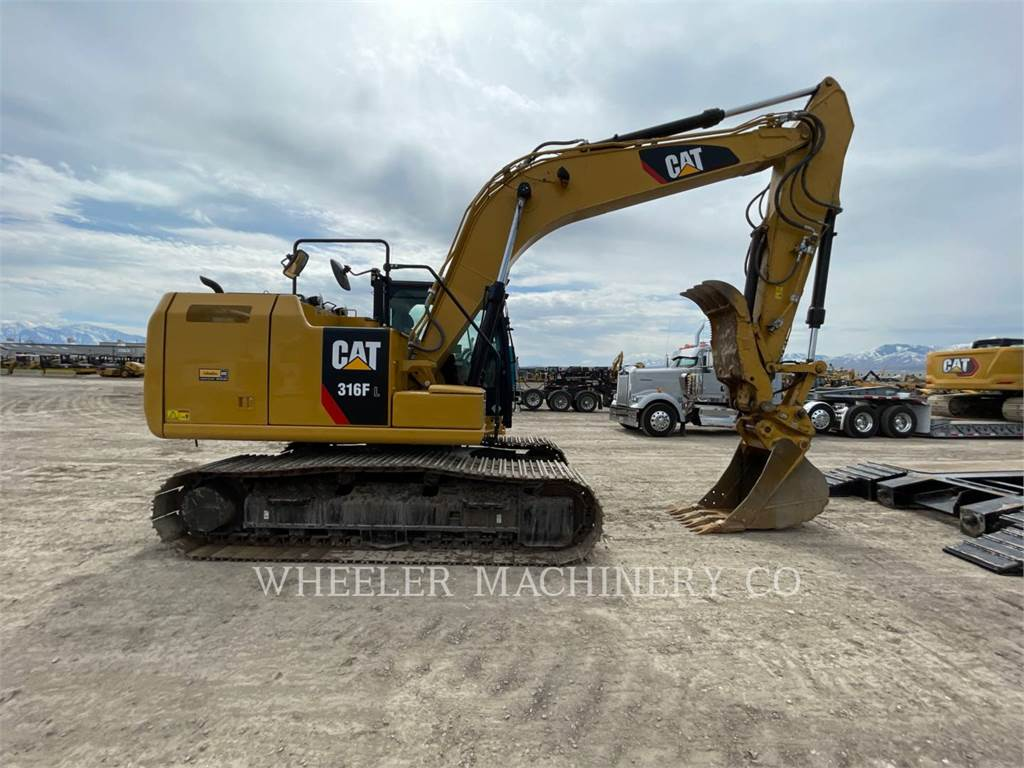 Caterpillar 316F L TH, Crawler Excavators, Construction