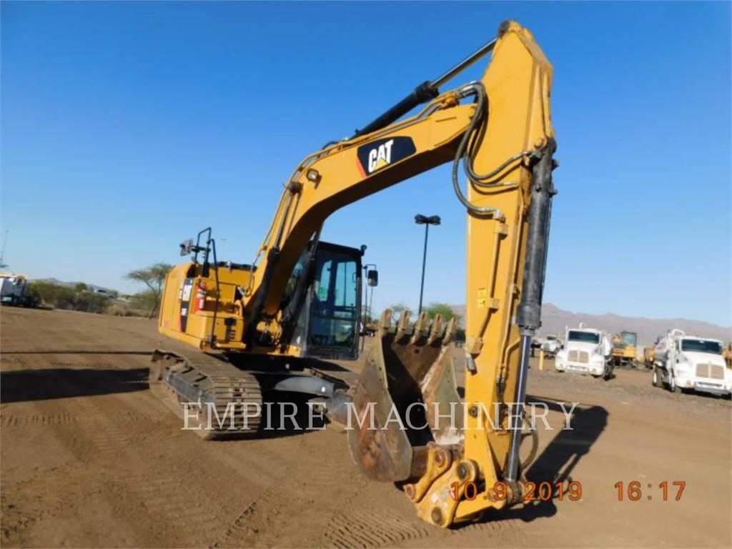 Caterpillar 316FL, Excavadoras de cadenas, Construcción