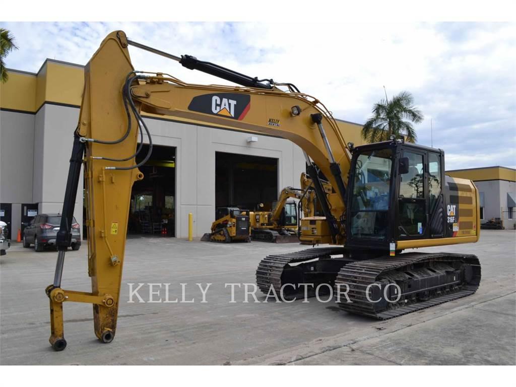Caterpillar 316FL, Pelle sur chenilles, Équipement De Construction