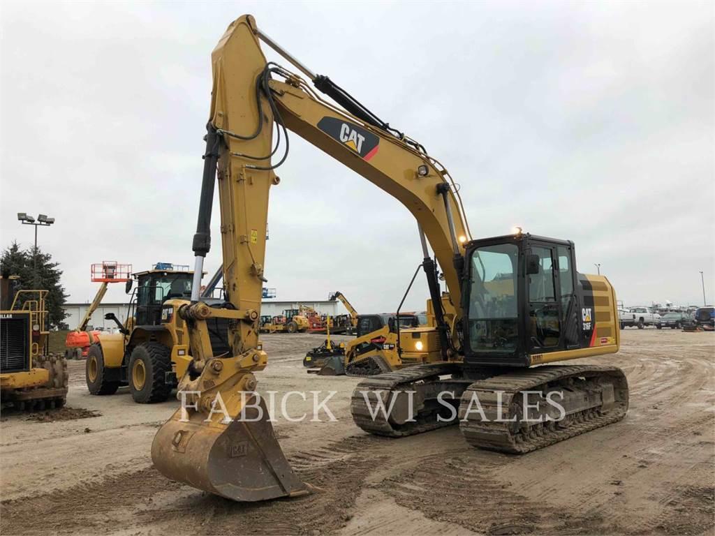 Caterpillar 316FL, Escavadoras de rastos, Equipamentos Construção