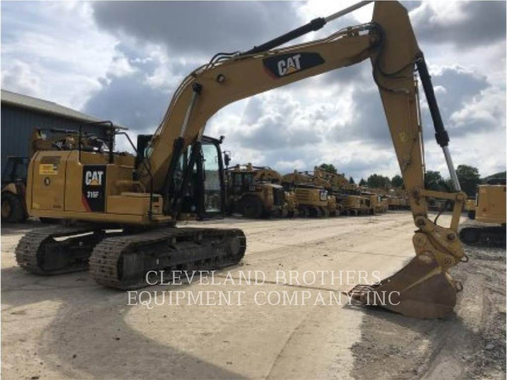 Caterpillar 316FL, Crawler Excavators, Construction