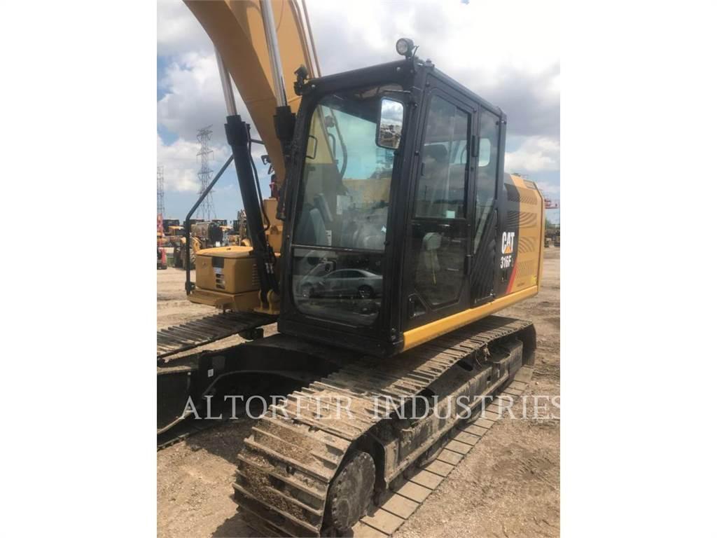 Caterpillar 316FL 2D, Excavadoras de cadenas, Construcción