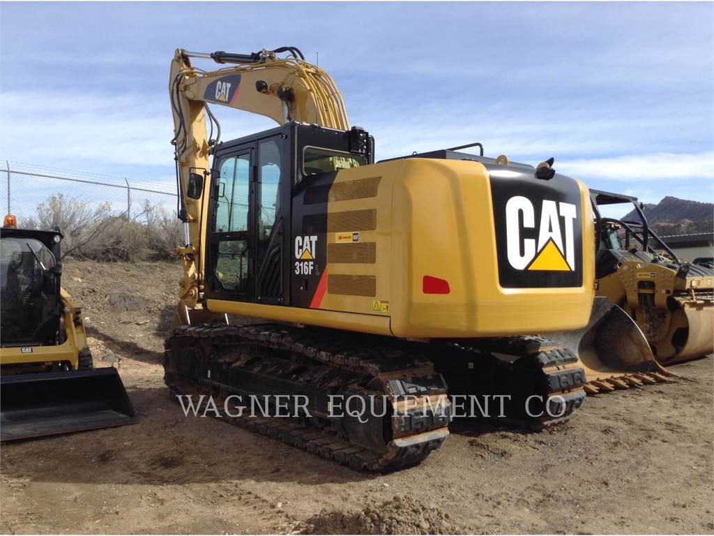Caterpillar 316FL, Excavatoare pe senile, Constructii