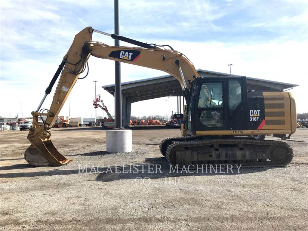 Caterpillar 316FL, Crawler Excavators, Construction