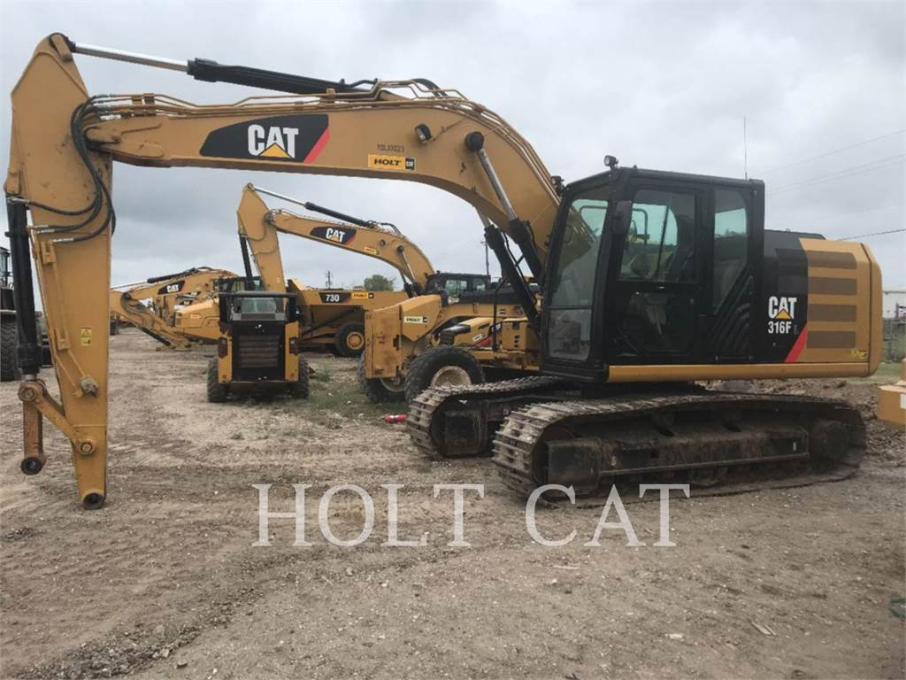Caterpillar 316FL TC, Crawler Excavators, Construction