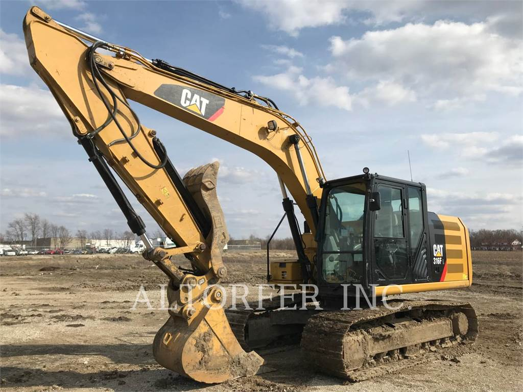 Caterpillar 316FL TH, Crawler Excavators, Construction