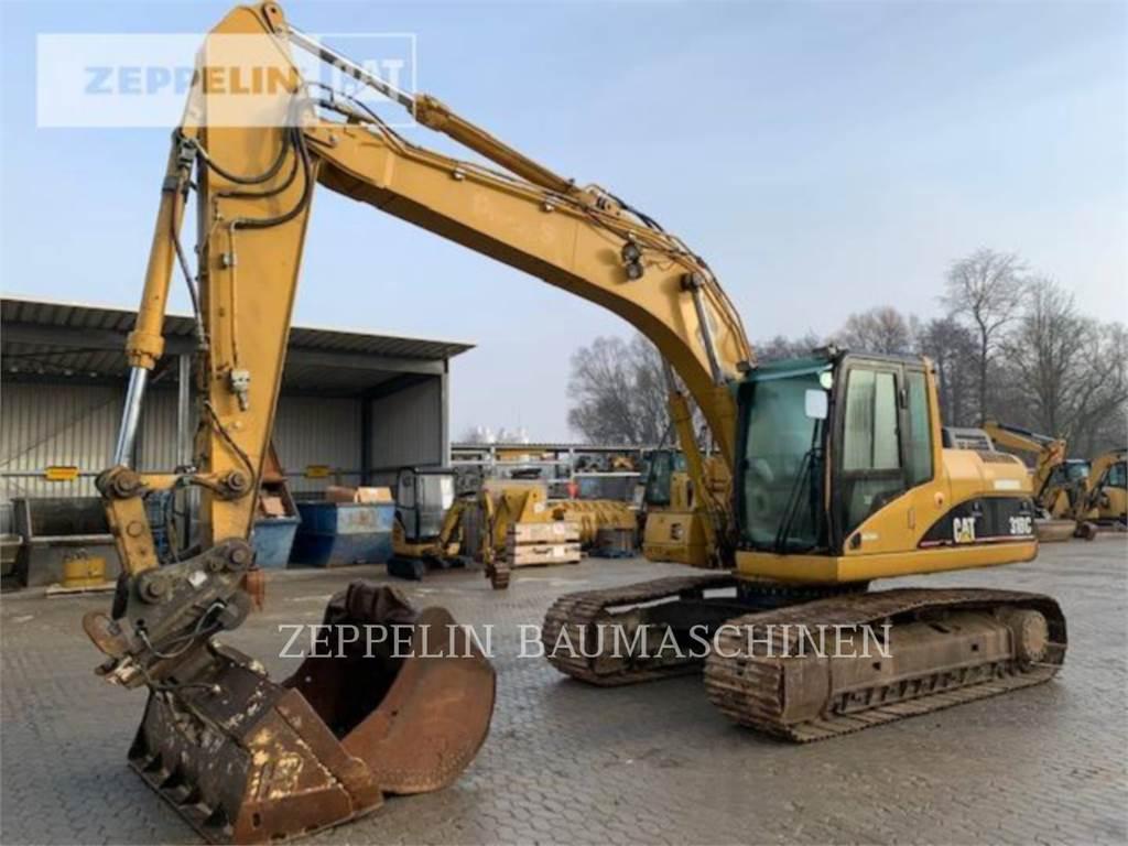 Caterpillar 318C, Crawler Excavators, Construction