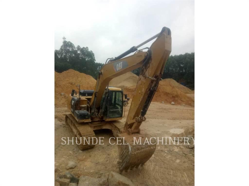 Caterpillar 318D2L, Excavadoras de cadenas, Construcción