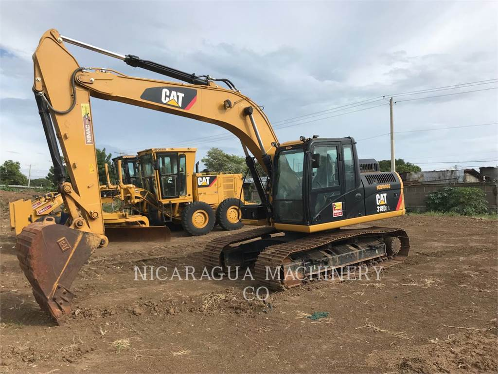 Caterpillar 318D2L, Crawler Excavators, Construction