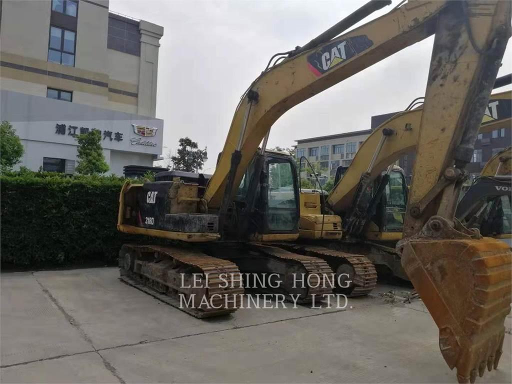 Caterpillar 318D2L, Raupenbagger, Bau-Und Bergbauausrüstung