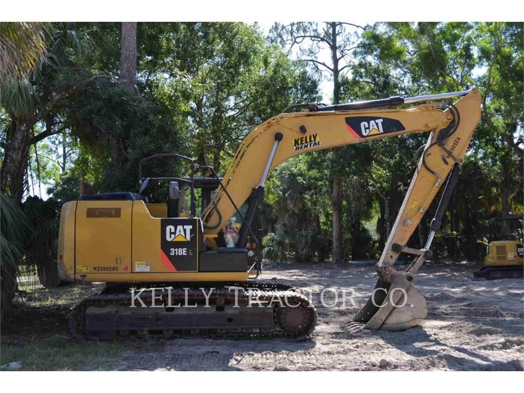 Caterpillar 318EL, Raupenbagger, Bau-Und Bergbauausrüstung