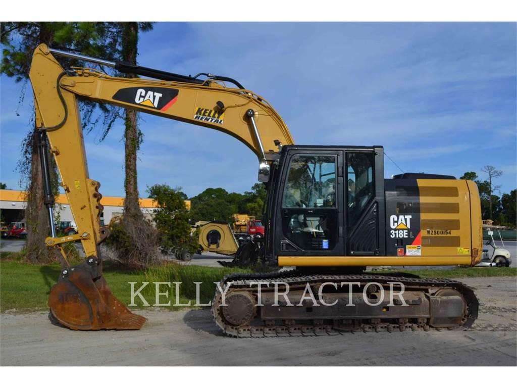 Caterpillar 318EL, Pelle sur chenilles, Équipement De Construction