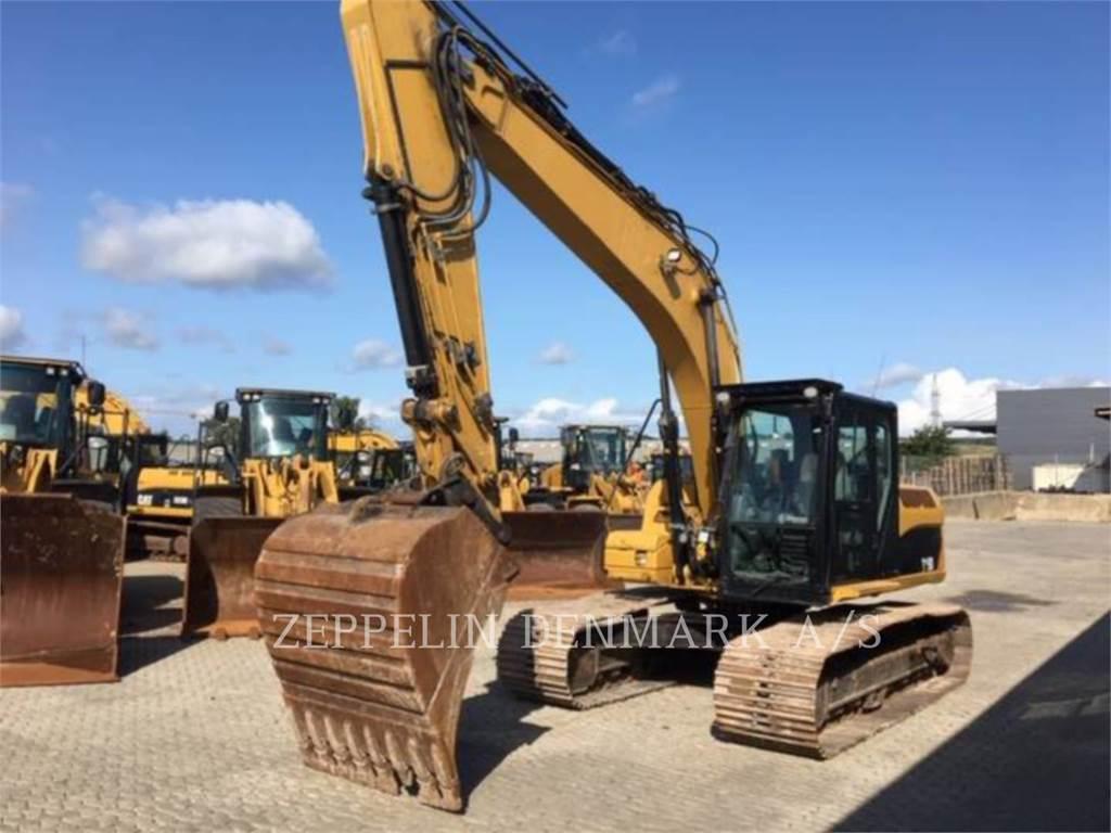 Caterpillar 319 D L, Crawler Excavators, Construction
