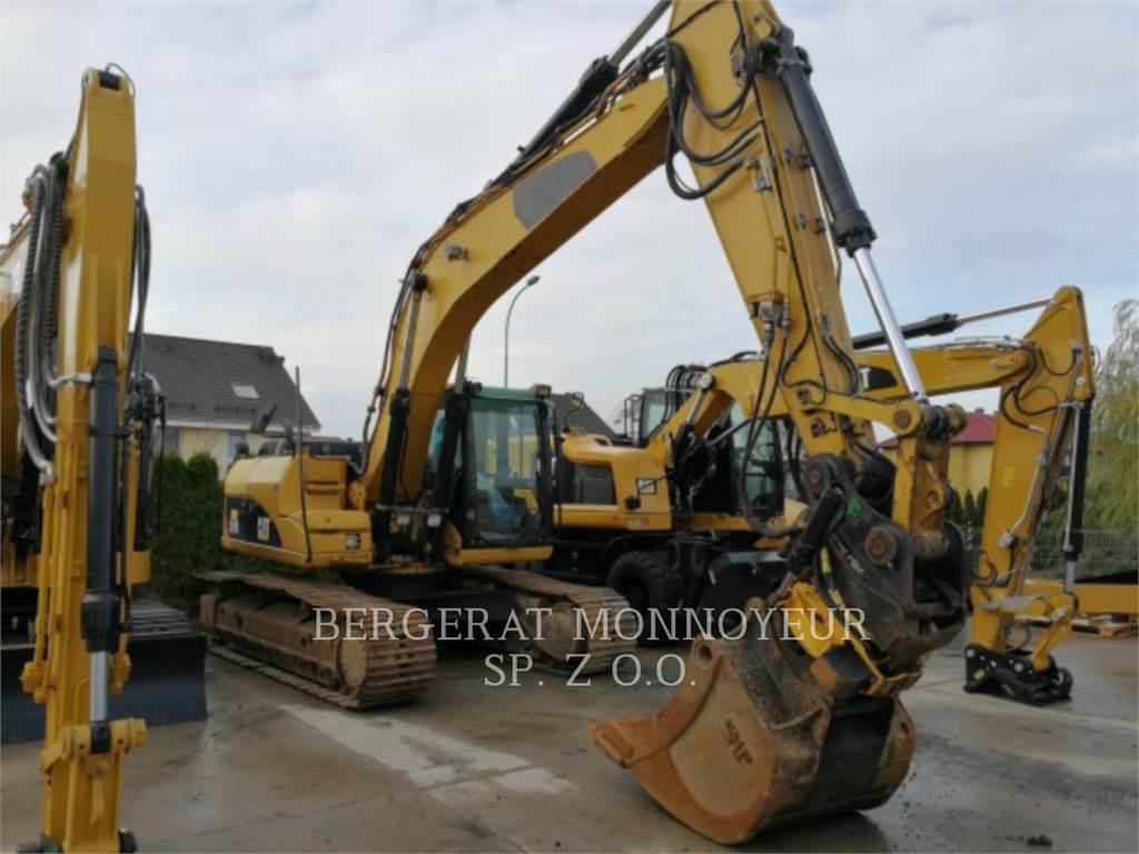 Caterpillar 319DL, Escavadoras de rastos, Equipamentos Construção