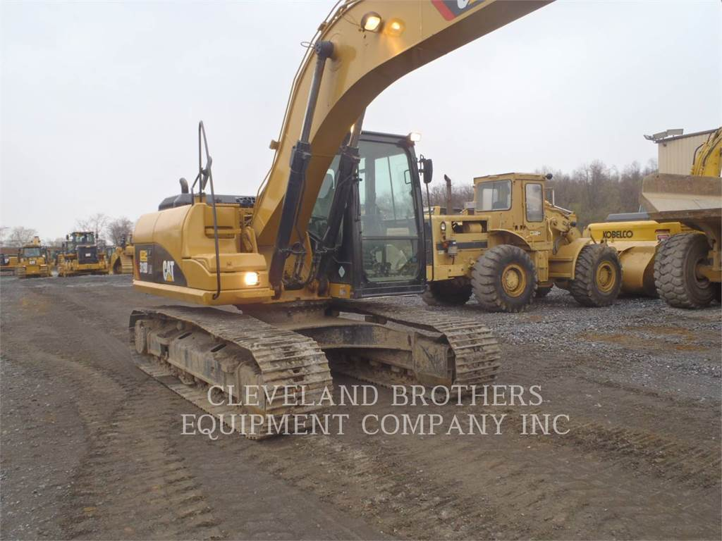 Caterpillar 319DLN, Crawler Excavators, Construction