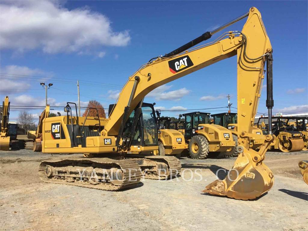 Caterpillar 320, Crawler Excavators, Construction