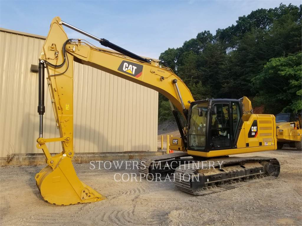 Caterpillar 320, track loaders, Construction