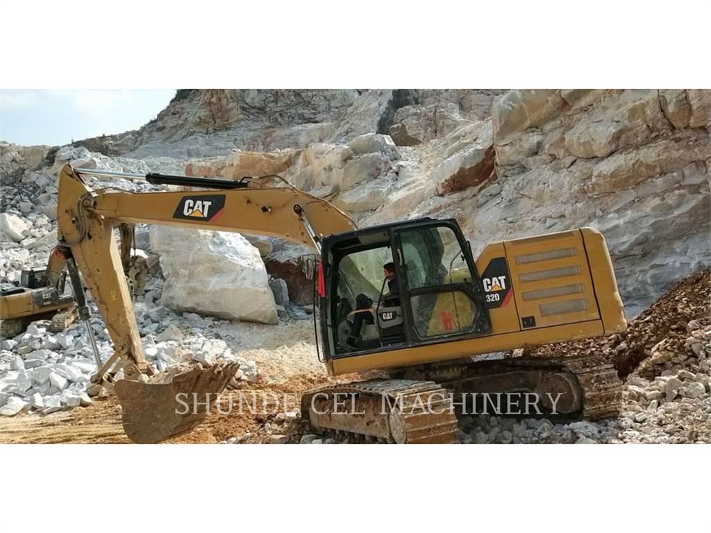 Caterpillar 320-07, Raupenbagger, Bau-Und Bergbauausrüstung