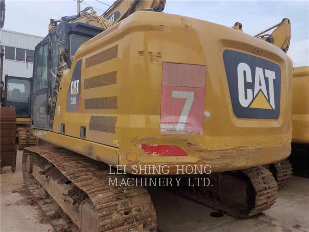 Caterpillar 320-07, Crawler Excavators, Construction