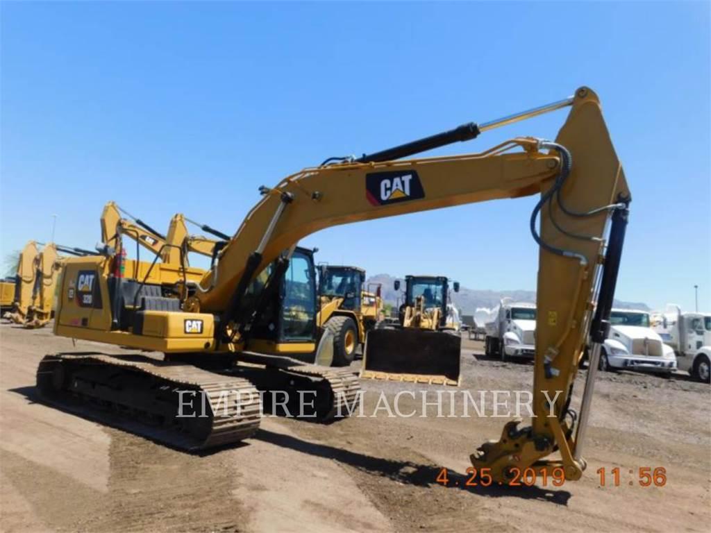 Caterpillar 320-07, Pelle sur chenilles, Équipement De Construction