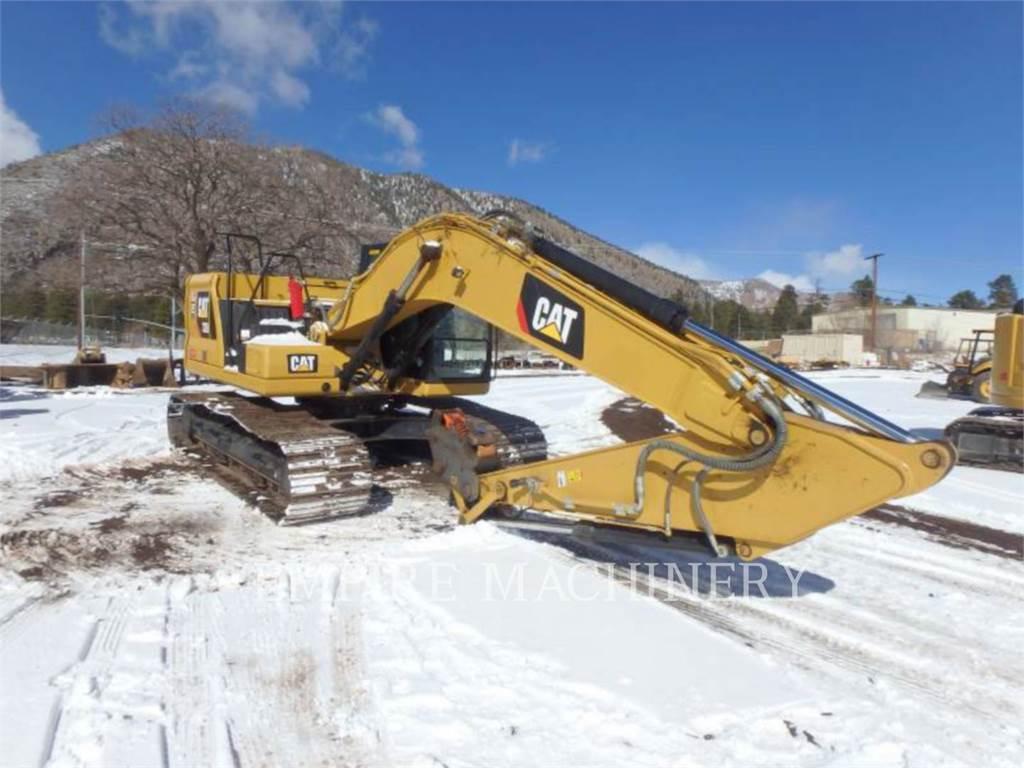 Caterpillar 320-07 P, Pelle sur chenilles, Équipement De Construction