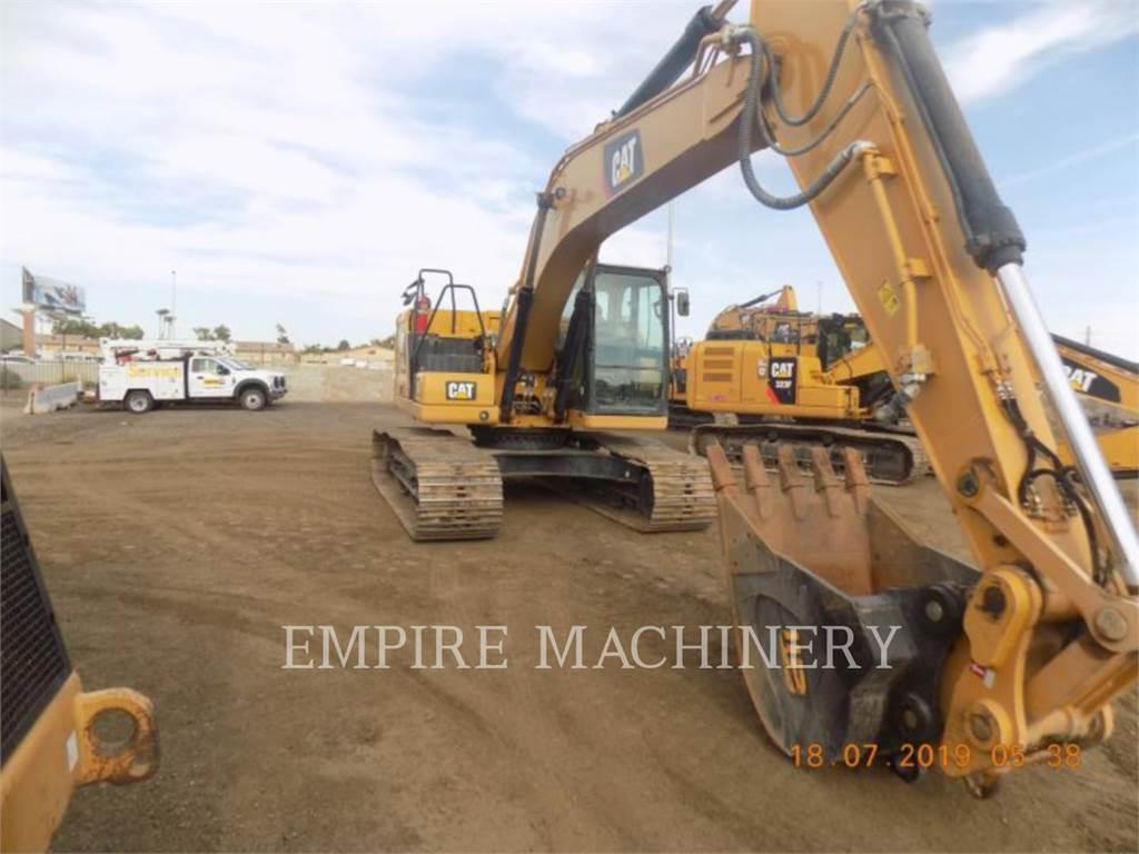 Caterpillar 320-07 P, Excavadoras de cadenas, Construcción