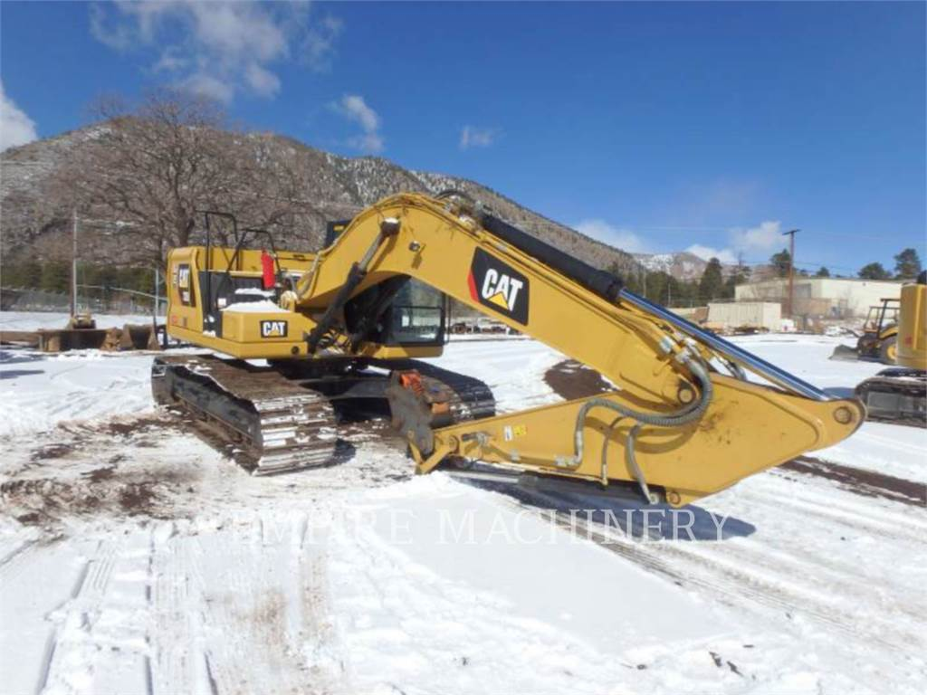 Caterpillar 320-07 P、大型油圧ショベル12t以上(パワーショベル・ユンボ)、建設