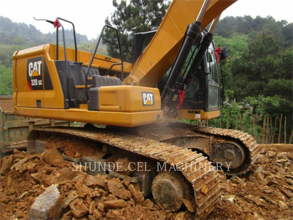 Caterpillar 320-07GC, Excavadoras de cadenas, Construcción