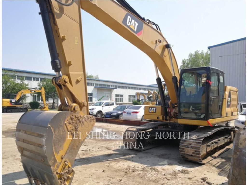 Caterpillar 320-07GC, Excavatoare pe senile, Constructii