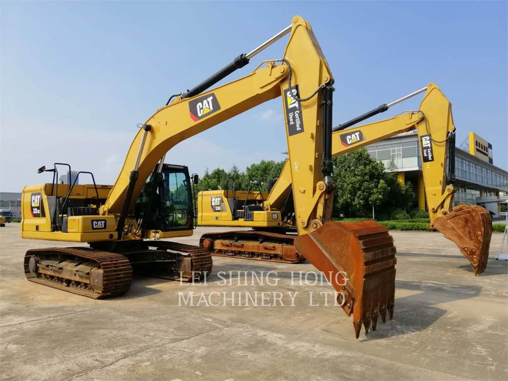 Caterpillar 320-07GC, Raupenbagger, Bau-Und Bergbauausrüstung