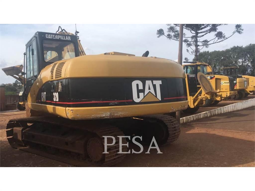 Caterpillar 320 C, Crawler Excavators, Construction